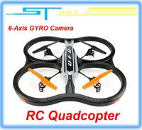 2.4G 4.5CH With Camera 6-Axis GYRO RC Quadcopter AR.Drone 2.0 VS WL V262 V959 UDI U818A Quad Copter Helicopt 51CM Bigge kids toy