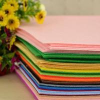 SUPER DEAL! Drop Shipping 40 pieces/lot  felt fabric, polyester,DIY felt fabric,non-woven felt, 30CMX30CM, 1MM Thick