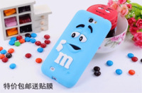 For galaxy note 2 Cases Rubber Silicone Cartoon Case Covers For Samsung galaxy noteII N7100 Cover Shell Free Shipping