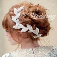 Aesthetic noble bride beads hair accessory hair accessory hair band