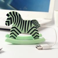 Free Shipping USB 2.0 4 Ports Horse USB Hub