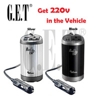 Car Chargers Car Auto 12V to 220V Power Inverter Adapter power converter with Anion creator