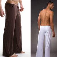 Men's casual pants yoga pants , mens lounge pants pajama bottoms, mens transparent tights pants, wholesale shipping