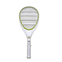 large teardrop-shaped recharge style anti-mosquito shoot fly swatter random color