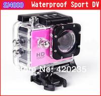 Sport Action Camera Diving Full HD DVR SJ4000 30M Waterproof extreme Sport Helmet Action Camera hd1080P G- Senor Camcorder DVR