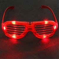 Masquerade venetian luminous glasses flashing glasses party glasses flicker multi-colored sunglasses