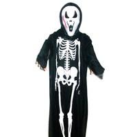 Halloween clothes devil cloak phantom mask clothing skull