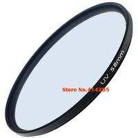 58mm UV Digital Filter Lens Protector Protection for all 58 mm Nikon Canon DSLR SLR Camera Camcorder