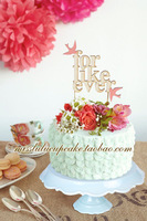 8 inch Cake pan ceramic high fashion cake stand wedding dessert plate lace trim 5 colors 2 pieces
