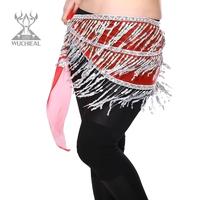 2014 New Indian Dance Waist Chain Tassel Sequins Belly Dance Waist Chain,9 Colors TP 101