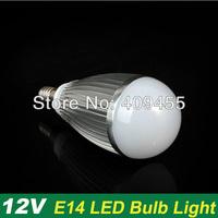 Wholesale(5pieces/lot)Led Bulb AC/DC12V E14 9w 7w 6w 5w 4w 3w lighting Warm/White LED Light Bulb Lamp