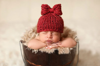 New wholesale children's photography baby one hundred days hand hat baby photo studio photography photo cap shape