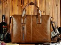 2014 fashion handbag business computer briefcase ZEFER man cross inclined 14 inch laptop bag bag, men's bags
