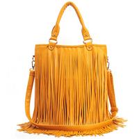 Women Leather Handbags Tassel Shoulder Bags Fahion Women PU Messenger Bag Totes