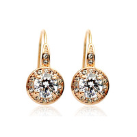 Accessories crystal hook earrings earring stud earring fashion quality gift