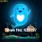 Creative, 3D wallpaper wall, LED energy-saving light control sensor lights  Little Dolphin
