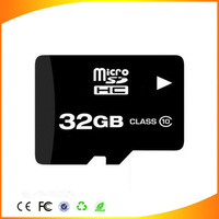 16gb 32gb 64gb micro sd card class 10 all memory pass H2test with golden quality