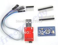 2PCS=1LOT CP2102 Module + 1PCS Pro Mini Module Atmega328 5V 16M For Arduino Compatible With Nano Free Shipping  30341taozhuang