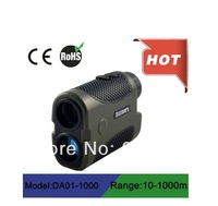 2014 Free shipping angle finder Laser Rangefinder 1000m / OEM  made in China