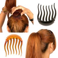 New Hairpin Horseshoers Fluffy Insert Comb Hair Styling Maker Hair Tools Maker