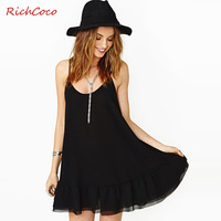 The real new 2014 spring summer fashion falbala hem smoke plait backless sleeveless round collar snow spins condole belt dress