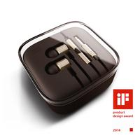 Top Quality 100% New XIAOMI Piston Earphones Headphones Headset  with Mic for MI2 MI2S MI2A Samsung HTC Iphones Free Shiping