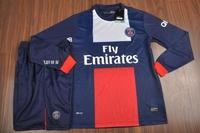 13 - 14 jersey homecourt long-sleeve short-sleeve away game soccer jersey set
