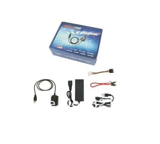 USB 2.0 to IDE SATA 2.5 3.5 Hard Drive Converter Cable Free shipping(China (Mainland))