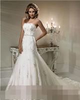 Ultralarge lace train wedding dress tube top fish tail wedding dress formal dress train lace tube top fish tail wedding dress