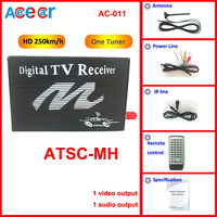 Специализированный магазин New car digital TV receiver box MPEG2 High Definition Car Digital TV Tuner Receiver