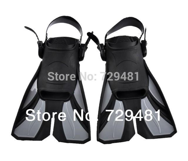 2014 hot sale summer Submersible fins snorkel swimming set fins light short flipper set fins(China (Mainland))