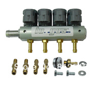 4 cyls Injector Rail for LPG/CNG sequential injection system Lo.gas