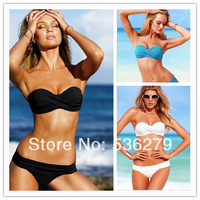 Женское бикини NEW summer beach retro women's Polka sexy push up Dot Bikini set victoria swimwear women high waisted bathing suits