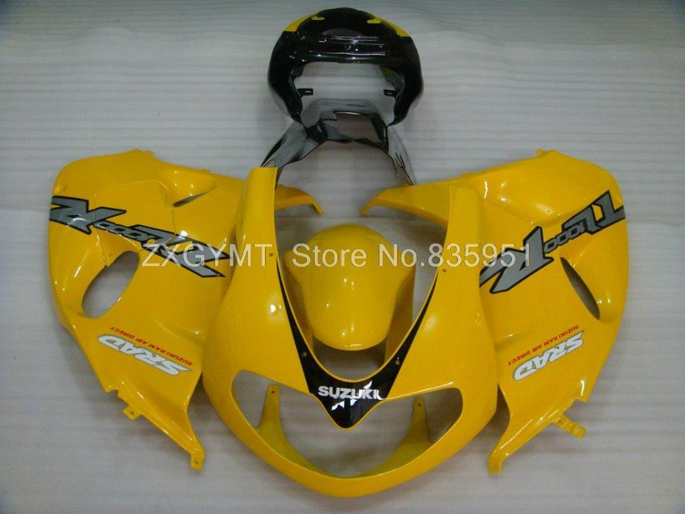 Body Kits 01 02 TL 1000R Injection Fairings 98-02 Details photo Yellow Black Silvery(China (Mainland))