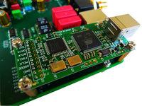 USB DSD PCM384K  ES9018 DAC NEW VER CPU Softwear Control Coaxial Fiber Decoder 192K-24BIT USB I2S 384K-32BIT 4 LAYER PCB DIY KIT