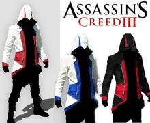 2015 Spring Fashion New Hoodies Sweatshirt,Assassins Creed 3 Outerwear Hoodies Clothing Men.Quality Sports Suit men,XXS-XXXL(China (Mainland))