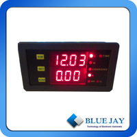 1PCS 50A Battery Meter With Shunt and 3Pcs Double Color 50A VA meter Shipped By DHL