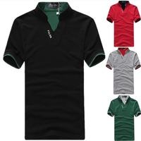 Plus Size 3XL 4XL 5XL Men's Clothing 2014 New Summer Men Short Sleeve T-Shirt Fashion Short-Sleeved Tee Shirts Men's T-shirt
