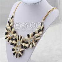 2014 New Shourouk Statement Necklace Women Fashion Short Necklace & Pendent Necklace Charms JY0219025630