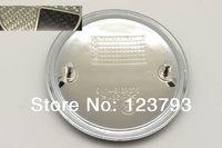 20pcs Black_Silver Real Carbon Fiber 82mm Car badge Front Hood and Rear Trunk Emblem Roundel PN: 51148132375