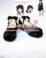 Oreimo Oreno Imouto Kuroneko Gothic Lolita Cosplay shoes anime boots