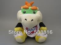 Hight Quality Super Mario Plush Toys 25cm Little Bib Koopa Dragon Plush Doll Mario Brothers Soft Plush Retail