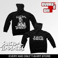 high quality printed rock n roll band Suicidal tendencies skeleton pullover sweatshirt camisola sueter hoody