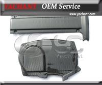 Carbon Fiber Cam Cover & Engine Plug Cover Fit For 2006-2007 Mitsubishi Evolution EVO 9