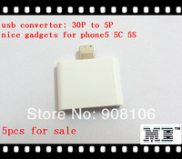 5x Free Shipping USB Adapter Convertor from 30P to 5P