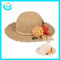 Spring 2014 girl summer straw hats for women sun hat summer cap beach hats for women