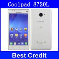 New original in Stock 4G TD LTE phone Coolpad 8720L 1G RAM 4G ROM Original Coolpad 4G LTE Quad Core 5MP 5.0 OGS 2000mah/Oliver