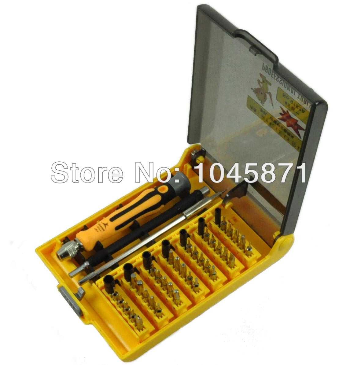 T003 New 45 in 1 Precision Cell Phone Mobile Repair ScrewDriver Profession Tool Set FREE SHIPPING