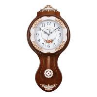 Mapleleaf wall clock fashion rustic silent pocket watch home decoration quartz clock and watch