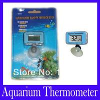 Free shipping Submersible Fish Tank Digital LCD Aquarium Thermometer SDT-1,2pcs/lot